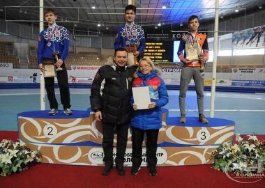 Приморский спортсмен выиграл «серебро» на Первенстве России по шорт-треку
