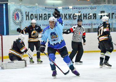Ночная хоккейная лига Приморья вернулась после новогодних каникул