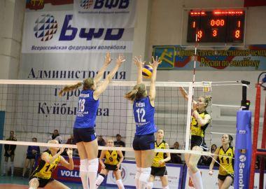 «Приморочка» дважды выиграла куйбышевский «Олимп»