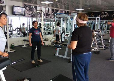 Многодетных мам приглашают на бесплатные занятия в спортзал