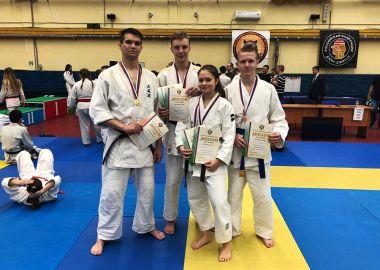 Приморцы стали призерами Чемпионата и Первенства России по джиу-джитсу