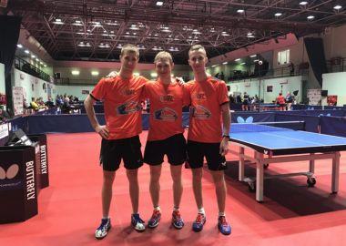 Командный прорыв приморцев на чемпионате России по настольному теннису