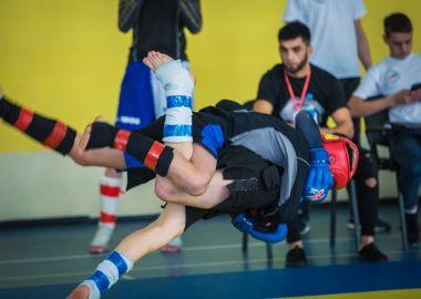 На Первенстве Приморья по СБЕ ММА среди самых юных бойцов открыли новые имена