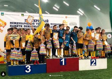 Победителем международного детского турнира по футболу стала команда «Восход» из Уссурийска