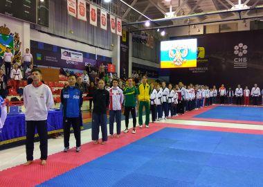 Чемпионат России по тхэквондо стартовал в Приморье
