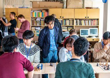 Шахматисты Приморья и Японии обмениваются опытом