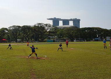 Приморские команды вернулись с международных соревнований по софтболу в Сингапуре
