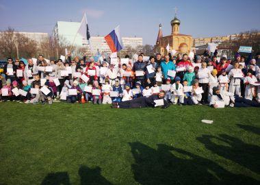 В Приморье отметили Международный день спорта масштабным флешмобом и зарядкой
