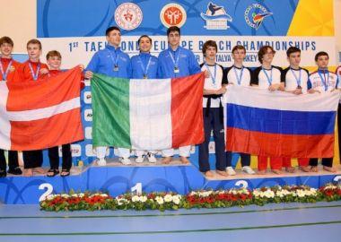 Приморские спортсмены выиграли медали на Чемпионате Европы по тхэквондо