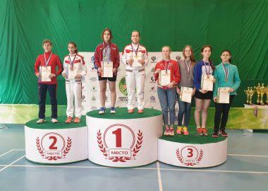 Три медали выиграла приморская спортсменка на Первенстве России по бадминтону спорта глухих