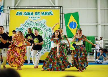 V международный фестиваль капоэйры пройдет во Владивостоке с 18 по 21 апреля