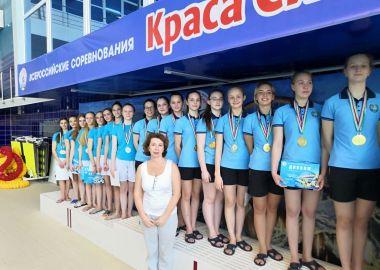 Синхронистки из Приморья выиграли медали на Всероссийских соревнованиях «Краса Сибири»