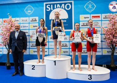 Приморские спортсменки стали призерами континентального первенства по сумо