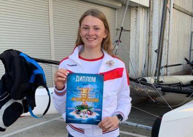 Приморская спортсменка выиграла Кубок России по парусному спорту