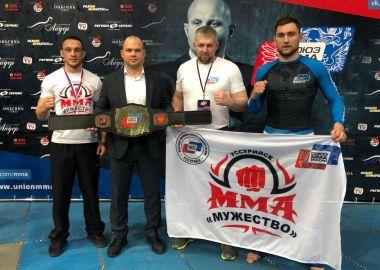 Приморские бойцы стали призерами Чемпионата России по смешанному боевому единоборству ММА