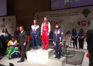 Спортсменка из Приморья Алина Рассамахина во второй раз стала чемпионкой мира по пауэрлифтингу
