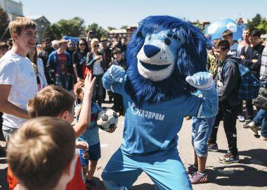 Футболисты «Зенита» проведут мастер-классы в Приморье