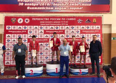 Приморские самбисты стали призерами Первенства России