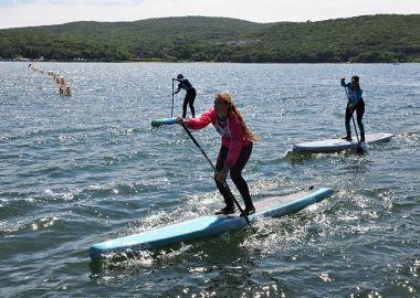 Соревнования по сапсерфингу пройдут 30 июня во Владивостоке