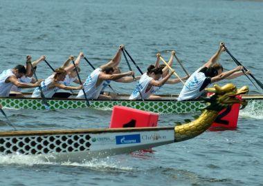 Гонки на лодках «Дракон» украсят 29 июня акваторию Спортивной набережной