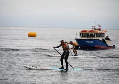 Приморские гребцы на sup-board поборолись за путевки на всероссийские соревнования