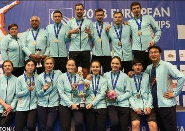 Команда «Приморье» выиграла клубный чемпионат Европы по бадминтону