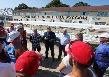 Сборная России по академической гребле готовится в Приморье к первенству мира