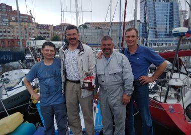 Приморские яхтсмены завоевали весь пьедестал на регате в Японии