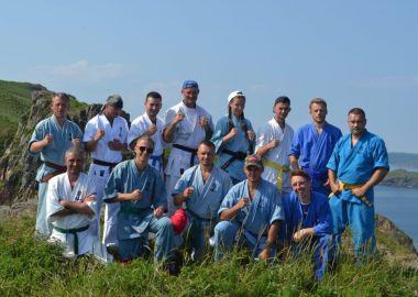 Дальневосточные кудоисты провели сборы на острове Рейнеке