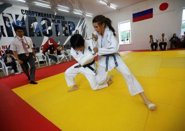 Дзюдоисты Приморья и Японии провели матчевую встречу
