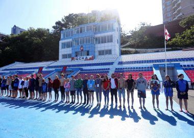 Кубок Приморья и этап Кубка России по плаванию на открытой воде провели во Владивостоке