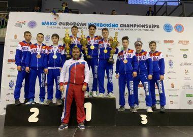 Приморские кикбоксеры выиграли шесть медалей на Первенстве Европы