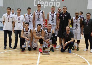 «Спартак-Приморье» выиграл «бронзу» на турнире Wind Basket в Латвии