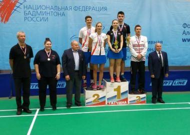 Приморские бадминтонисты завоевали шесть медалей на чемпионате России