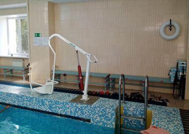 Бассейн в Уссурийске сделали доступным для маломобильных граждан