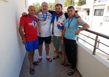 Приморские самбисты выиграли пять медалей на чемпионате мира среди ветеранов