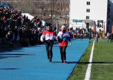 Обновленный стадион открыли в Дальнегорске