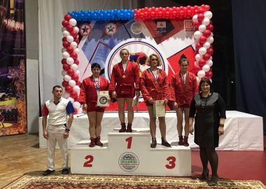 Приморские самбистки завоевали медали на Кубке России