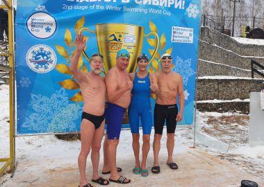 Сборная Приморья выиграла 45 медалей на этапе Кубка мира по зимнему плаванию в Тюмени