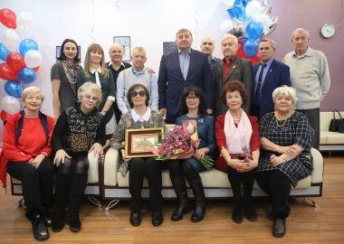 С 90-летним юбилеем поздравили Лидию Ощепкову