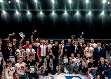 Команда Приморья заняла первое место в чемпионате и первенстве ДФО по смешанному боевому единоборству ММА