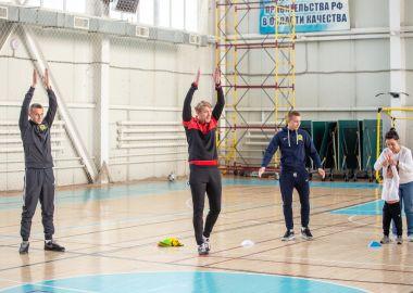 Футболисты «Луча» стали участниками акции ко дню человека с синдромом Дауна