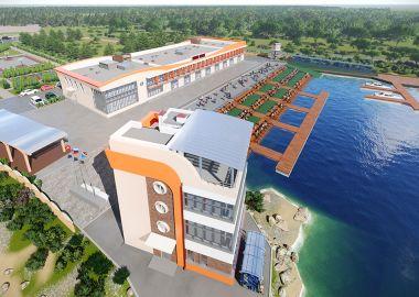 Реконструкция гребной базы «Олимпийская» началась в Приморье