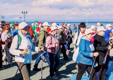 Всероссийский день ходьбы отметили в Приморье